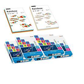 Kopierpapier 1250 Blatt + Rainbow-Mixpaket instensiv/pastell, GRATIS