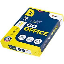 Kopierpapier Mondi Color Copy GO OFFICE, DIN A4, 80 g/m², hochweiß, 1 Paket = 500 Blatt