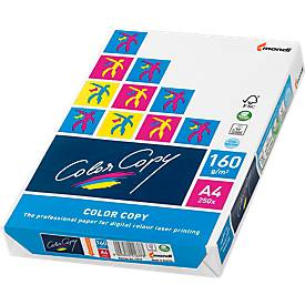 Kopierpapier Mondi ColorCopy, DIN A4, 160 g/m², reinweiß, 1 Paket = 250 Blatt