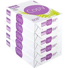 Kopierpapier REY Copy FSC, DIN A4, 80 g/m², weiß, 1 Karton = 5 x 500 Blatt