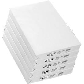 Kopierpapier Schäfer Shop CLIP OutPut, DIN A3, 80 g/m², weiß, 1 Karton = 5 x 500 Blatt