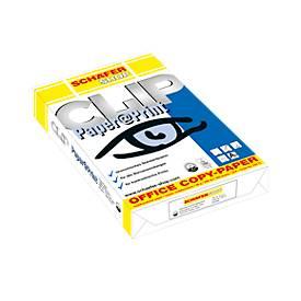 Kopierpapier Schäfer Shop CLIP Paper@Print, DIN A4, 80 g/m², weiß, 1 Paket = 500 Blatt