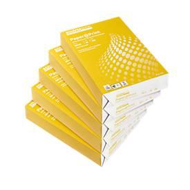 Kopierpapier Standard, DIN A4, 80 g/m², weiß, 1 Karton = 5 x 500 Blatt