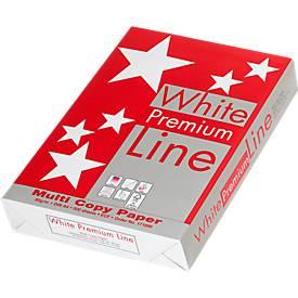 Kopierpapier White Premium Line, DIN A4, 80 g/m², hochweiß, 1 Paket = 500 Blatt