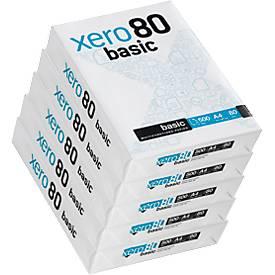 Kopierpapier xero80 basic, 2.500 Blatt