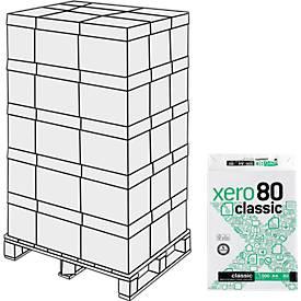 Kopierpapier xero80 classic, 100.000 Blatt, Palette