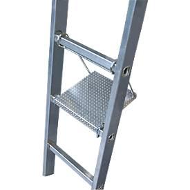 Krause Combi-Tritt/Ablage, für Krause Sprossen-Leitern, Höhe 40 cm