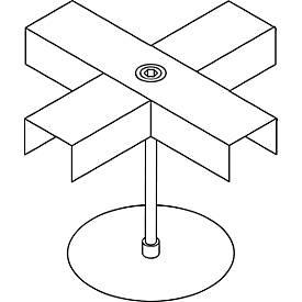 Kreuzverbinder, verzinkt