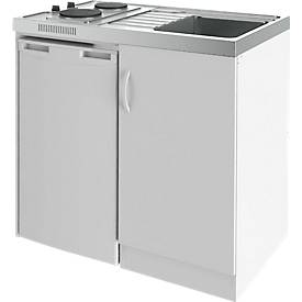 Küchencenter KCN-100/E, 2 Kochplatten