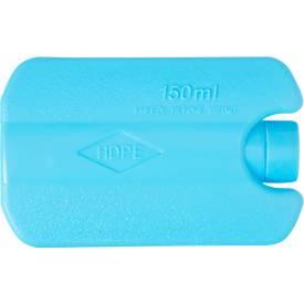 """Kühlakku """"Frozen"""", HDPE-Kunststoff, B 120 x T 80 x H 30 mm, WAB 50x18 mm"""