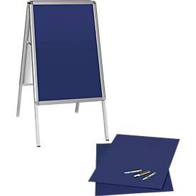 Kundenstopper und Schreibtafel, SET