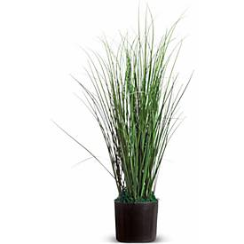 Kunstpflanzen PAPERFLOW Gras, aus PVC, inkl. Kunststofftopf, 55 cm