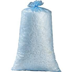 Kunststof afvalzakken, 70 l, blauw