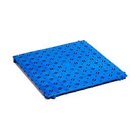 Kunststoff-Bodenrost, blau