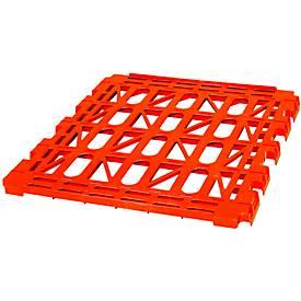 Kunststoff-Etagenboden für Rollbox, rot RAL 3000