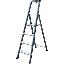 Ladder,Geanodiseerd, 4 treden