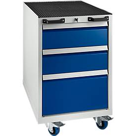 Ladekast op wielen DPP01A blauw RAL5010