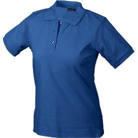 Ladies Poloshirt, royal, M