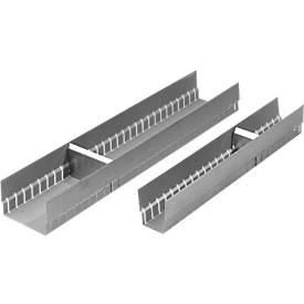Längsrinne zur Schubladenunterteilung, B 59 mm