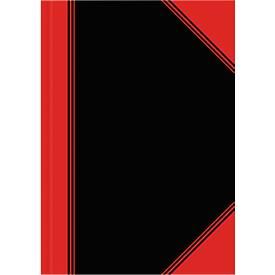 Landré Notizbuch China-Kladde mit lamiertem Einband, 96 Blatt, 6 Stück