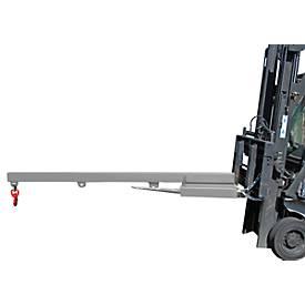 Lastarm für Gabelstapler, 2400-1,0, orange RAL 2000