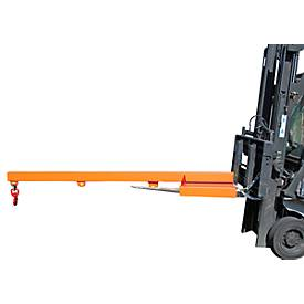 Lastarm für Gabelstapler, 2400-5,0, orange RAL 2000