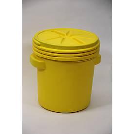 Leckagen-Notfallset in UN-Sicherheitsfass für Chemikalien, Kapazität Set 75 Liter