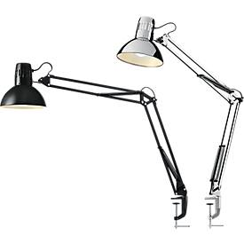Led-bureaulamp Manhattan, architectenlamp, 400 lumen, levensduur 20.000 uur, zwart