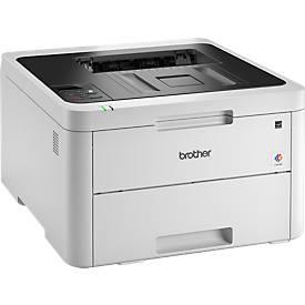 LED-Drucker Brother HL-L3230CDW, Farbe & Schwarzweiß, USB/LAN/WLAN, Duplex, 18 Seiten/min, bis A4
