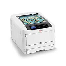 LED-Drucker OKI C824dn, Farbe/Schwarzweiß, netzwerkfähig, Duplex, bis A3