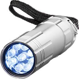 LED-Lampe Mega-Man, silber