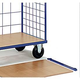 Legplank met houder, draagvermogen 50 kg, B 1175 x D 790 mm, B 1175 x D 790 mm