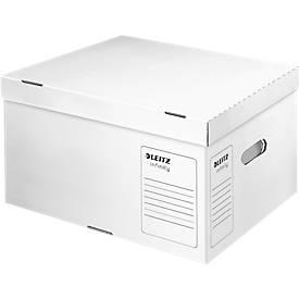 LEITZ® Archivbox Container, Größe L, Pappe, für langfristige Archivierung