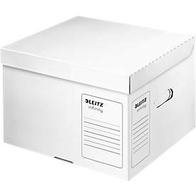 LEITZ® Archivbox Container, Größe M, Pappe, für langfristige Archivierung