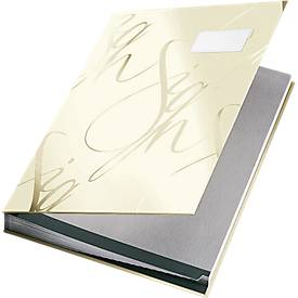 LEITZ® Design-Unterschriftenmappe 5745, 18 Fächer, Karton