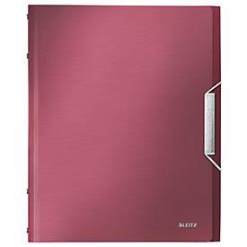 LEITZ® Dokumentenmappe Style, DIN A4, Gummizugverschluss, 6 Fächer, PP