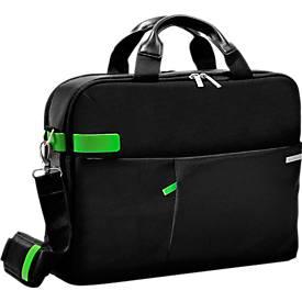 LEITZ® Notebook-Tasche Smart Traveller, f. 15,6 Zoll Laptops, 2 Haupt- u. 1 Frontfach