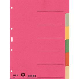 LEITZ® Register Blanko, 6 oder 8 Taben, zur freien Verwendung, einzeln