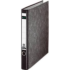 LEITZ® Ringordner 1040, DIN A4, 2-Ring-Mechanik, Rückenbreite 35 mm, Wolkenmarmor