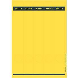 LEITZ® Rückenschilder lang, PC-beschriftbar, Rückenbreite 50 oder 80 mm, selbstklebend