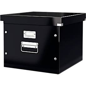LEITZ® Ablage- und Transportbox für Hängeregistratur Serie Click + Store, schwarz