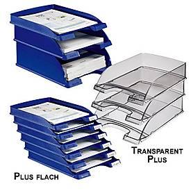 LEITZ® Briefkorb Standard, 1 Stück, transp. glasklar