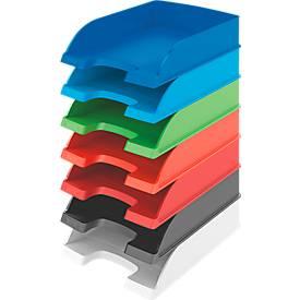 LEITZ® brievenbakken Standard 5227, rood, 5 stuks