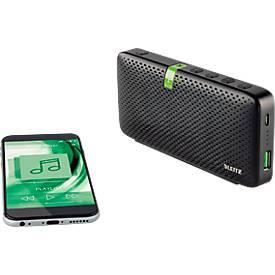Leitz Complete Tragbarer Konferenz Bluetooth HD Lautsprecher, schwarz