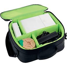 LEITZ Icon Etikettendrucker-Set + zwei gratis Etiketten-Kartuschen + gratis Tasche