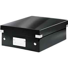 LEITZ® opbergdoos serie Click & Store, klein model, zwart