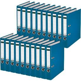 LEITZ® Ordner 1015, DIN A4, Rückenbreite 52 mm, 20 Stück, blau