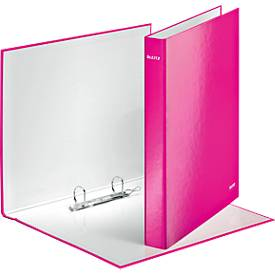 Leitz Ringbuch WOW, DIN A4, 2DR 25 mm, rosa