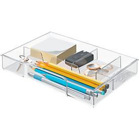 Leitz Schubladeneinsatz 5215, für Leitz Schubladenboxen WOW Cube 5213 und 5214