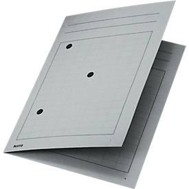 LEITZ® Umlaufmappe, DIN A4, Karton, grau